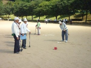 グラウンドゴルフ大会②