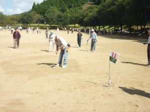 グラウンドゴルフ大会③
